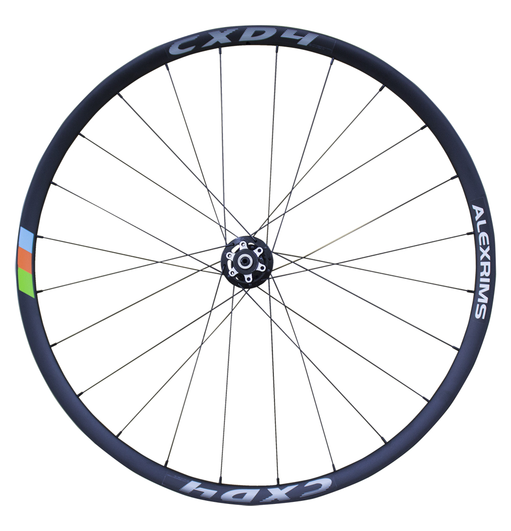 700c Disc Wheelset >> Alex CXD4 - 700C Road Disc Wheels with Centrelock (TL-Ready) in Black