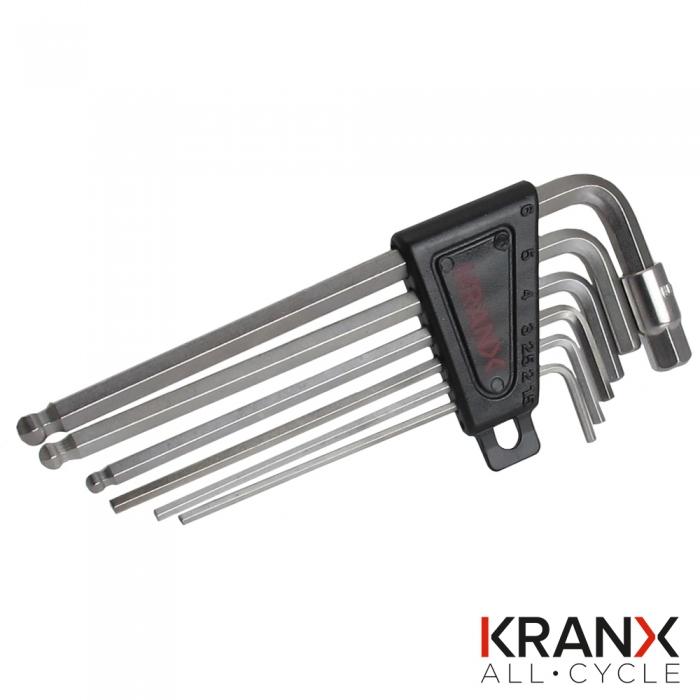 Allen Key Locking Skewer Set in Black- KranX
